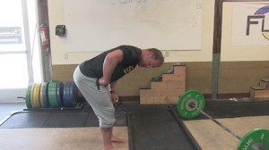 problems with deadlift setup - rounded back