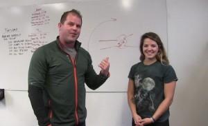 Passive Accessory motion - Kelly Starrett with Taylor Curado