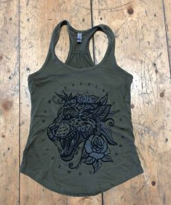 Green Tattoo Tank