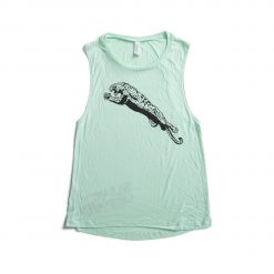 Women's Original Leopard Muscle Tank