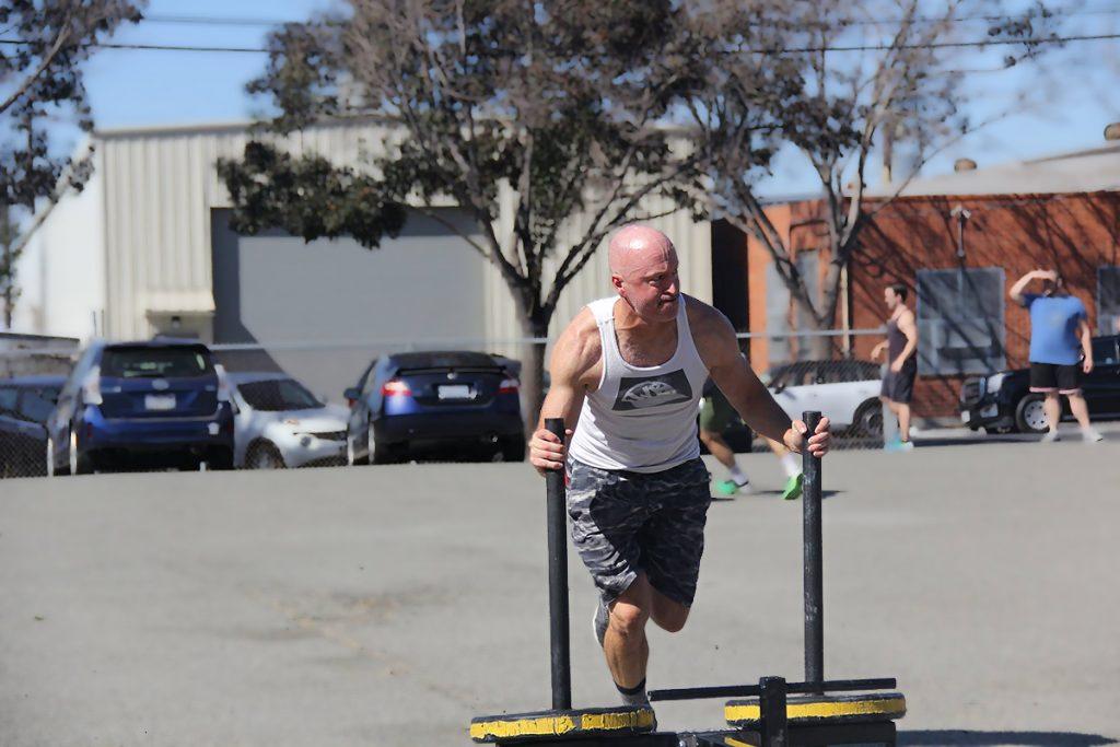 Mike Minium training
