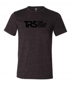 Men's Charcoal/Black TRS Logo T-Shirt