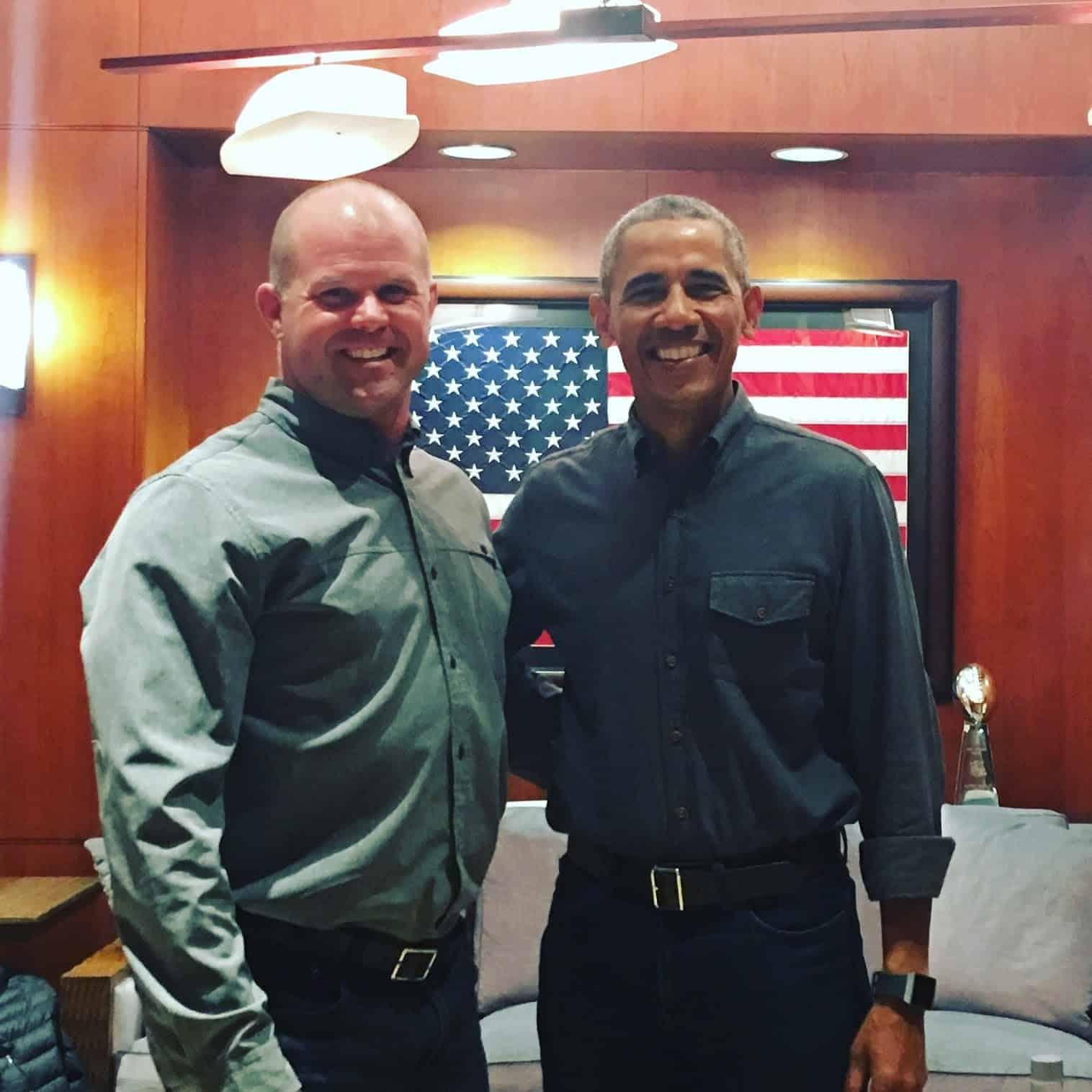 Kelly + Barack Obama