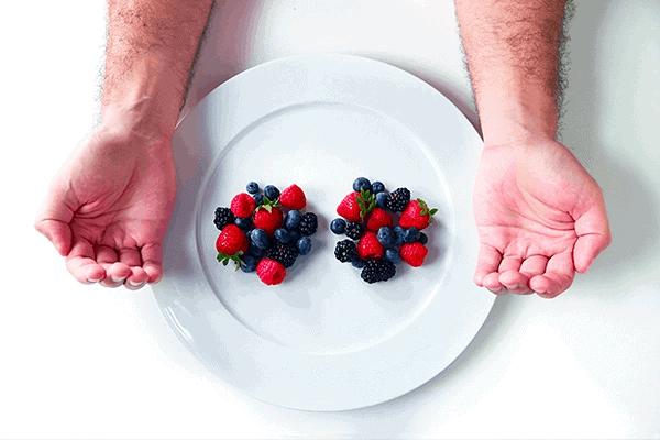 Fruit portion size for men