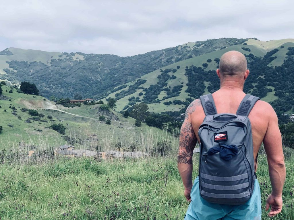 Kelly Starrett hiking