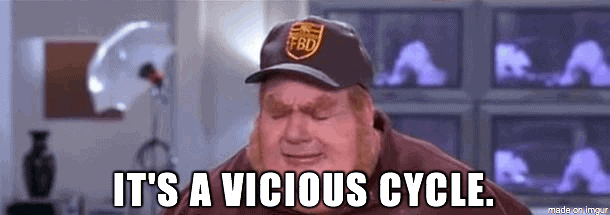 """It's a Vicious Cycle"" Meme"