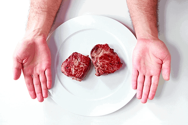 Protein portion size for men