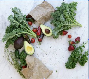 Picture of fruits and vegetables to demonstrate healthy carbs as part of how I prepare for menopause