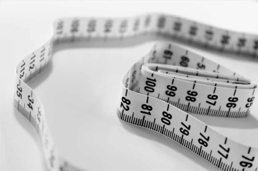 Image of a measuring tape to illustrate whyFasting For Women Is Not As Effective For Weight-Loss