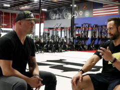 Kelly and Rich Froning Jr. together