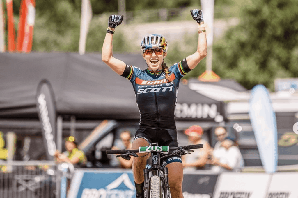 Kate Courtney Mountain Bike Champion