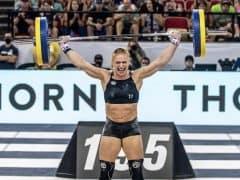 Annie Thoridottir CrossFit Games Champion